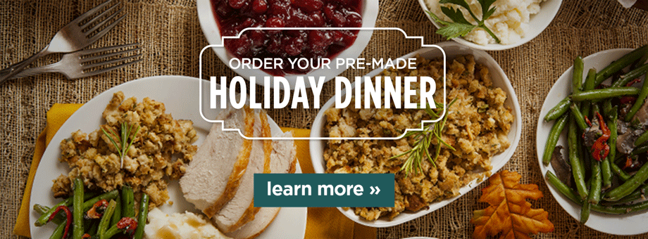 Order your pre-made holiday dinner