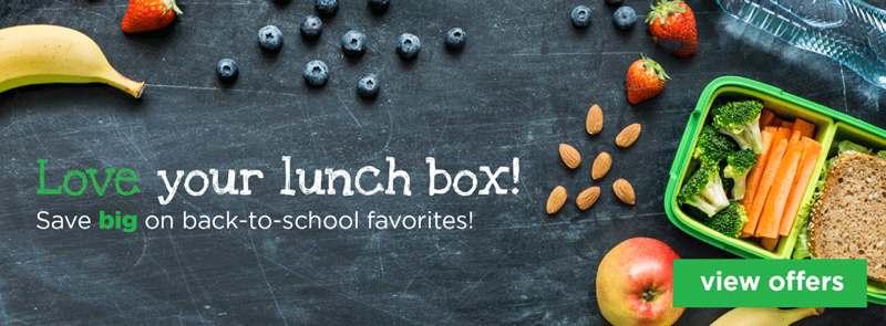 love your lunch box! Save big on back-to-school favorites!