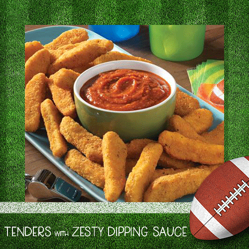 Tenders with Zesty Dipping Sauce