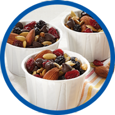 Berry Almond Trail mix