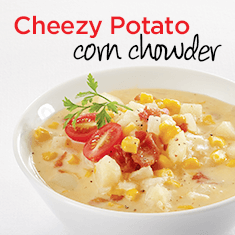 cheezy potato corn chowder