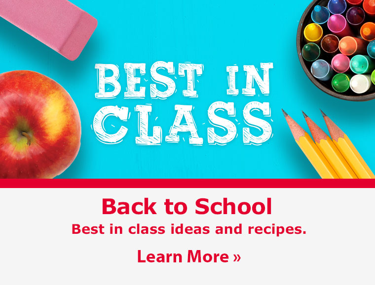 Back to School. Best in class ideas and recipes