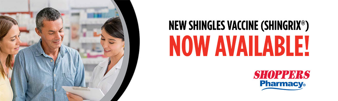 New Shingles vaccine (Shingrix) now available